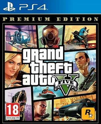 Grand Theft Auto V Gta 5 PS4 Nuovo Premium Edition