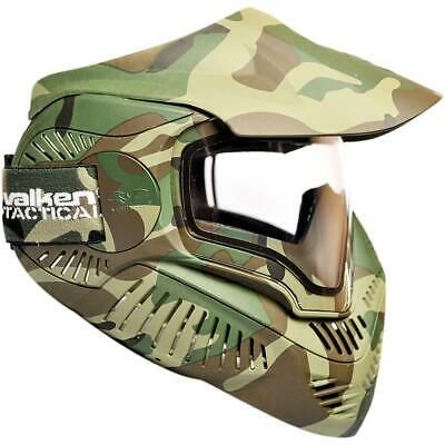 Valken Annex Full Face Deluxe MI-7 Woodland Camo Mask Paintball Airsoft CQB