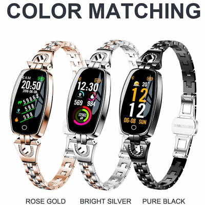 Women Smart Watch Fitness Activity Tracker Fitbit for Android iOS Heart Monitor