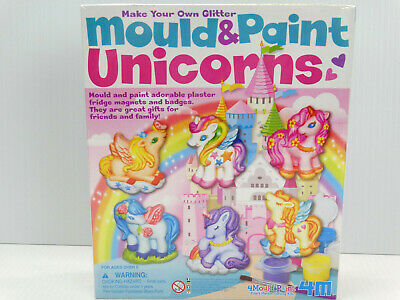 Toysmith Make Your Own glitter Mould & Paint Unicorns Ages 5+