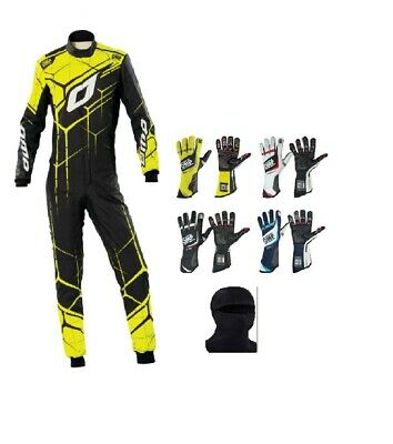 Kart Racing ONE ART SUIT MY2020 Top Karting Suit FIA Approved and Karting Gloves