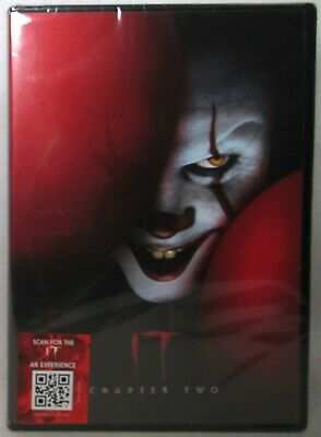 """IT: DVD CHAPTER 2/TWO  (Stephen King) >NEW<  """"Scan for IT Experience"""""""