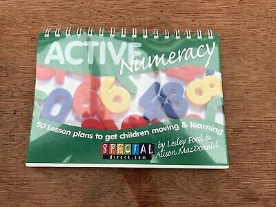 Active Numeracy - 50 Lessons to get Children Moving and Learning - Teaching Aid
