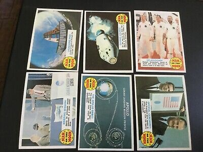 1969 Topps Man On The Moon  Lot X 6 #2