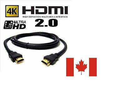 HDMI 2.0 4K 3D Ethernet ps3 bluray UHD3FT  Ultra Cable HDTV High Speed Display