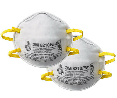 3M™ Particulate Respirator Mask 8210Plus, N95 (Pack of 2)