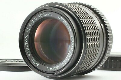 【Excellent +++】Pentax SMC PENTAX-M 100mm f/2.8 K Mount Lens from JAPAN #1098-1