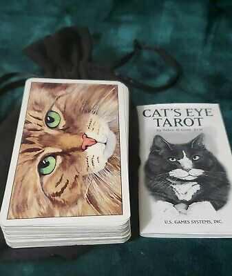 Cats Eye Tarot Deck Cards by Debra Givins ~ Wiccan Pagan Metaphysical ~