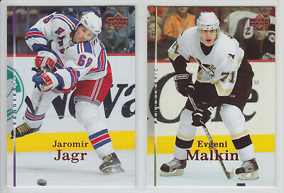 2007-08 Ud Upper Deck Series 1 Hockey Base Set 1-200 Crosby Malkin Jagr Getzlaf