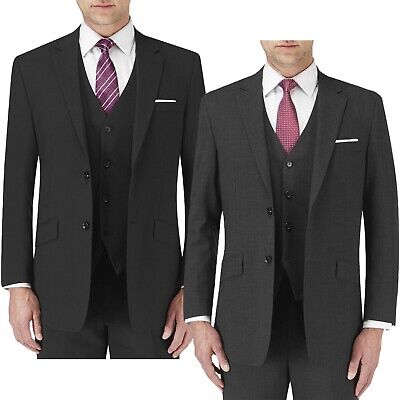 NEW Grey Houndstooth Vitali Size 68L Big /& Tall Classic Business 120/'s Suit