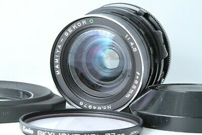 【App EXC5+ For PARTS】Mamiya SEKOR C 65mm F4.5 for RB67 w/Filter Fixed Lens 49370