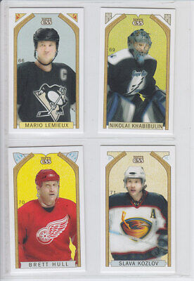 2003-04 Topps C55 Minis Stanley Cup Back #61-150 Rc Variation Finish Set U Pick