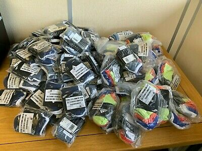 121 Packets of baby and junior Adidas socks Joblot