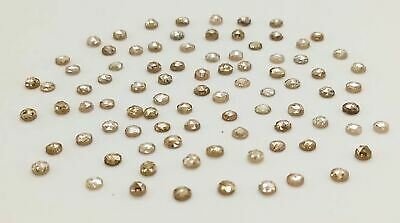 Natural Loose Diamonds Brown Fancy Mix Color Round Clarity I1-I2 1.00 CtLot NQ16