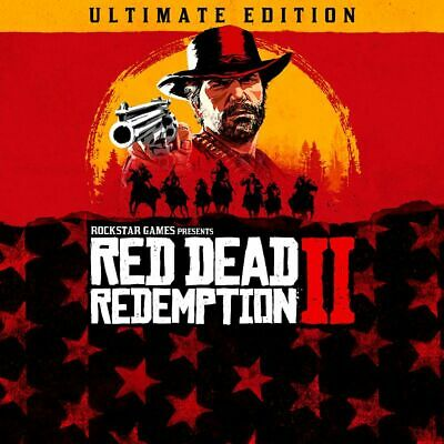 Red Dead Redemption 2 Ultimate Edition Pc - Steam - Offline Account + 60 Games