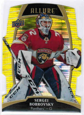 19/20 2019 UD ALLURE HOCKEY BASE YELLOW TAXI CARDS #1-60 U-Pick From List