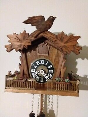 Genuine Black Forest Cuckoo Clock fully restored and in perfect Working order