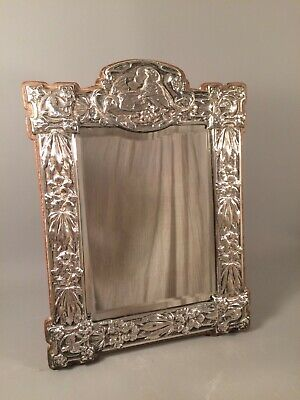 Silver. Art Nouveau or Arts & Crafts Dressing Table mirror 1905 Photograph Frame
