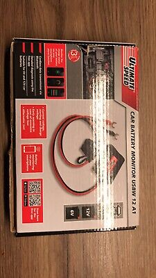 Ultimate Speed Car battery monitor USBW 12 A1 RO monitor from phone 2
