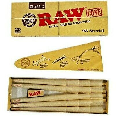 RAW Classic Cones 20 Pack – The 98 Special