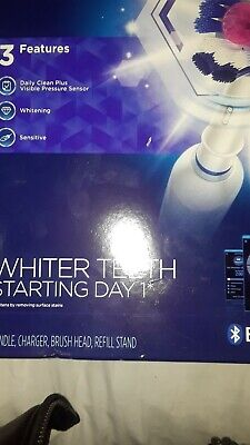 Oral-B Pro2 3DWhite Electric Rechargeable Toothbrush│Pressusre Control│2000W│NEW