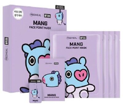 Bt21 Mediheal Face Point Official Mask Mang Authentic Bts Kpop