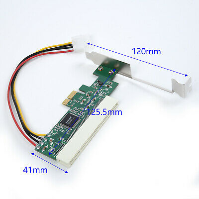 PCI Express PCIE To PCI Adapters Card Asmedia 1083 Chip Riser Extenders 32-Bit