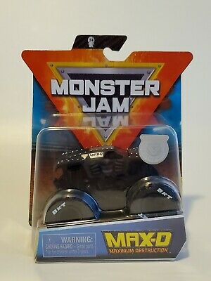 VHTF!!!  SPIN MASTER MONSTER JAM MAX D BLACKED OUT 2020 Series 9!!