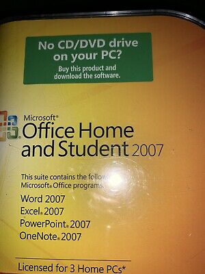 Microsoft Office 2007 Home and Student
