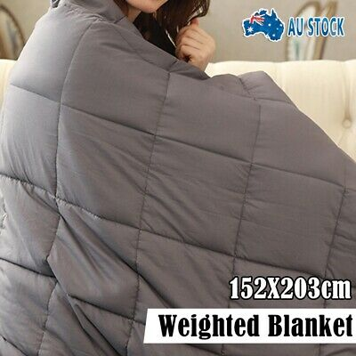 Heavy Duty Premium Weighted Blanket Adults Kids Gravity 7/9KG Heavy Gravity