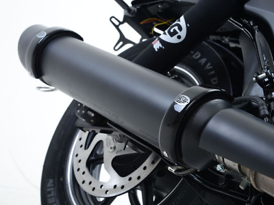 """R&G Round Exhaust Protector (4.5"""" to 5.5"""") (Can Cover)"""