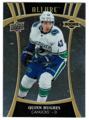 19/20 2019 UD ALLURE HOCKEY BASE ROOKIES RC SP CARDS #101-135 U-Pick From List