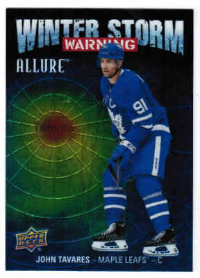19/20 2019 UD ALLURE HOCKEY WINTER STORM WARNING CARDS (WSW-XX) U-Pick From List