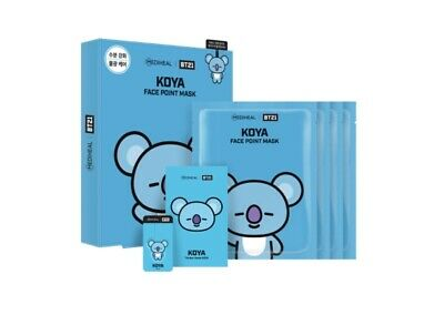 Bt21 Mediheal Face Point Official Mask Koya Authentic Bts Kpop