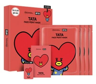Bt21 Mediheal Face Point Official Mask Tata Authentic Bts Kpop
