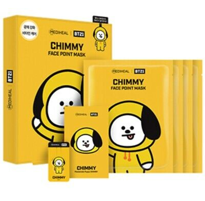 Bt21 Mediheal Face Point Official Mask Chimmy Authentic Bts Kpop