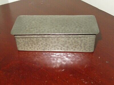 Liberty and Co Tudric pewter box, 0505 vgc. No Reserve