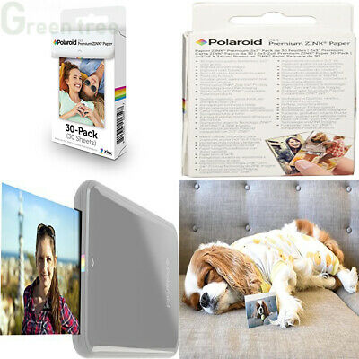 Polaroid Premium Zink Photo Paper 2x3ʺ (30 Pack) Compatible with 30 Sheets