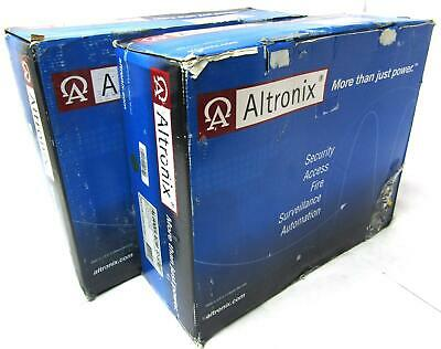 2x New Altronix Access Power Controller W/ 12 or 24 VDC Supply | AL600ULACM