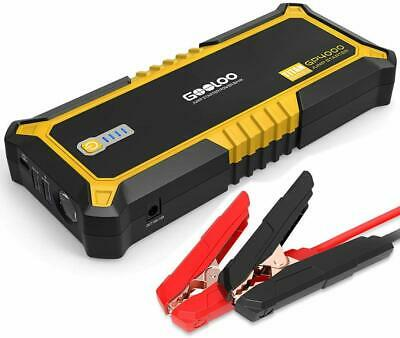 gooloo 4000 amp auto booster pack  Supports USB type-C charging Powerful