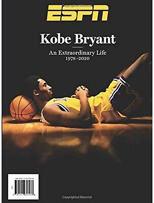 Kobe Bryant - ESPN Magazine - Special Edition 2020 Tribute Issue In Hand