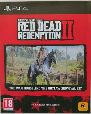 DLC - Red Dead Redemption 2 War Horse and Outlaw Survival Kit (ps4)