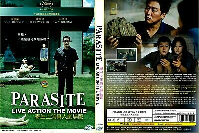 DVD Parasite Korean Movie (2019) All Region NEW SEAL EnglishSubtitle +Tracking