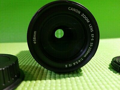 Canon ZOOM  LENS EFS 55-250mm F/4-5.6 IS Telephoto Zoom Lens MACRO 1.1M/3.6ft