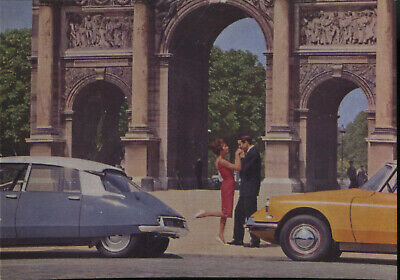 Postcard Car/Automobil Citroen DS