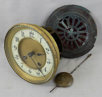 Hac Striking Clock Movement, Dial, Bezel, Pendulum, Door - French Style - S / R