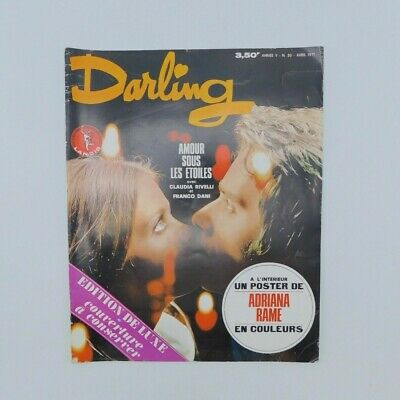 Roman-photo Darling n°50 de 1971 ♦ Adriana Rame ♦ Vintage
