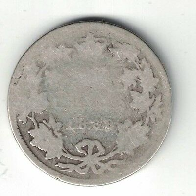 Key Date Canada 1889 Closed 9 25 Cents Quarter Victoria Sterling Silver Coin