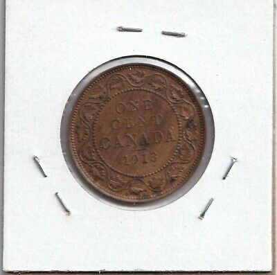 1913 Canadian Large Cent! XF!