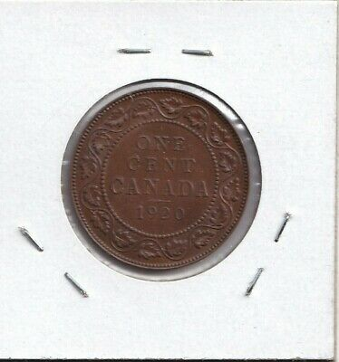 1920 Canadian Large Cent! Almost Uncirculated!